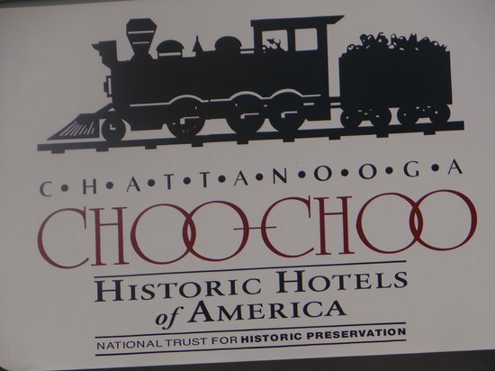 Chattanooga Choo Choo : sign
