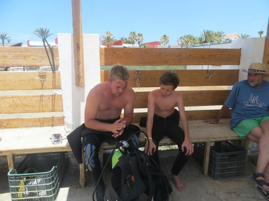 Deep Blue Diving Base: Taylor and Ramura