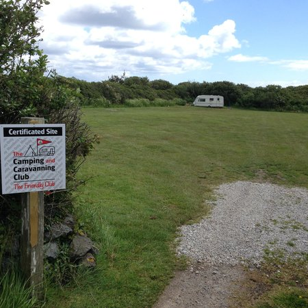 Little Trethvas Camping and Touring Site: Certified site