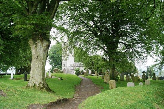 Hill of Tara (Temair): sentiero che porta alla chiesa