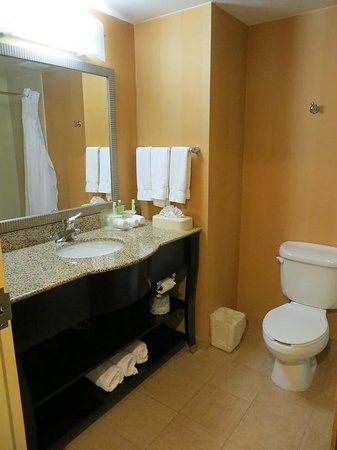 Holiday Inn Express Hotel & Suites Palm Bay: Spacious bathroom