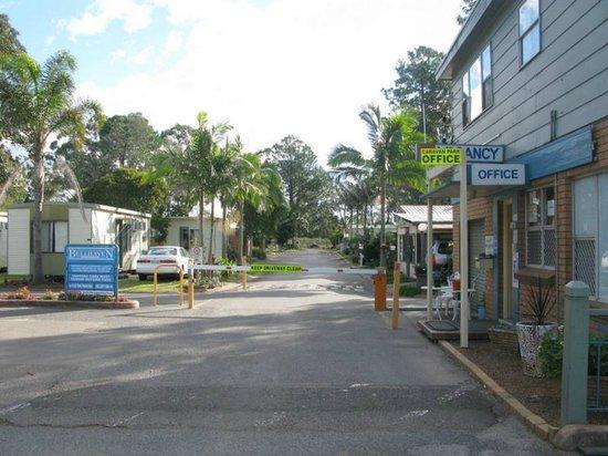 Bellhaven Caravan Park: Entrance
