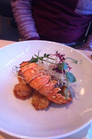 The Straits Restaurant : great presentation