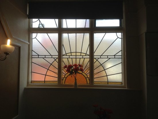 Monarch Hotel: Sunrise window