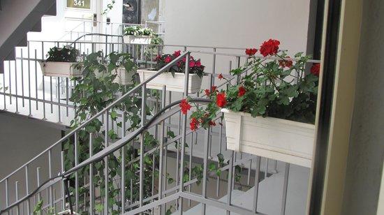 Nuru Ziya Suites : courtyard