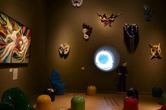 Taro Okamoto Museum of Art : 撮影可能エリア