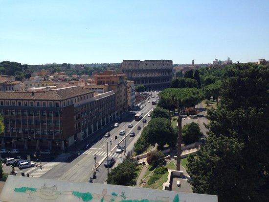 Mercure Rome Colosseum Centre : Amazing views