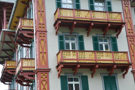 Jugendstilhotel Hotel Paxmontana: rooms with balcony on two sides