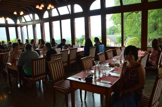 Jugendstilhotel Hotel Paxmontana : tour group dining area