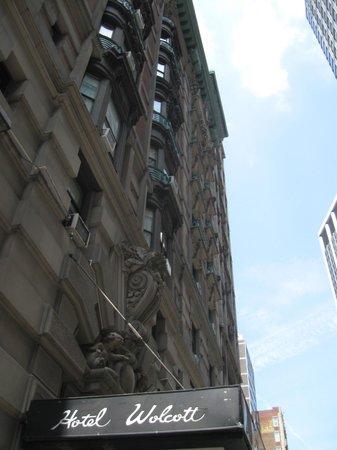 Outside photo of the Wolcott Hotel