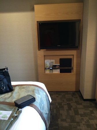 Almont Hotel Kyoto: Large flat screen TV