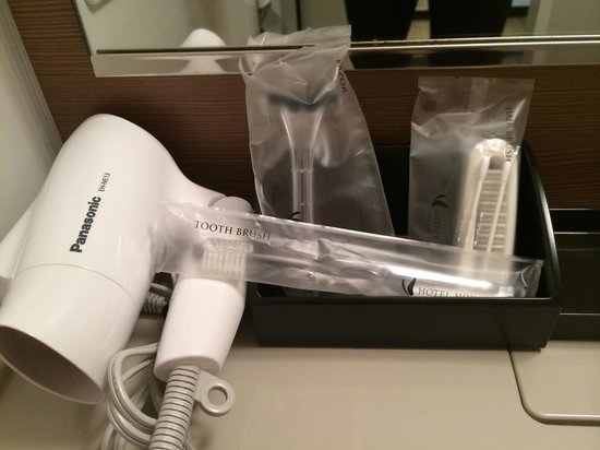 Almont Hotel Kyoto: Amenities in the bathroom