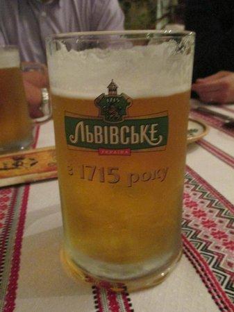 """Kozatska Gramota : La bière """"1715"""" excellente"""