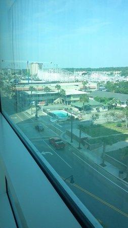 Oceans One Resort : view of amusement park from front bedroom