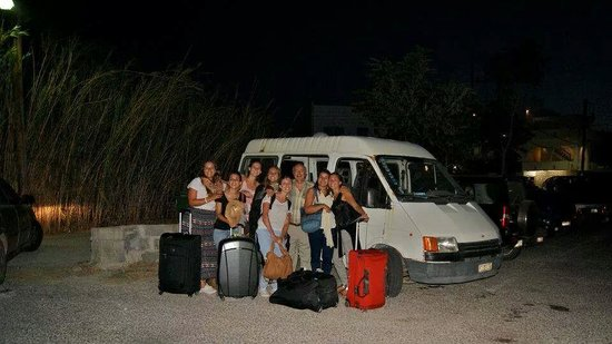 Villas Georgy : Arrivée de clients