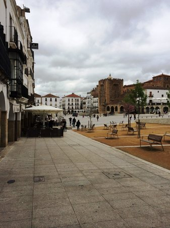 AH Agora Caceres : Main square at Caceres