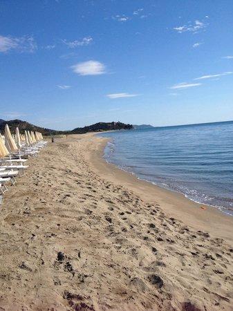 Eden Village Colostrai: Spiaggia
