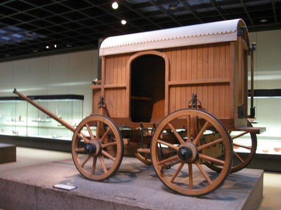 Römisch-Germanisches Museum: Повозка Римской империи
