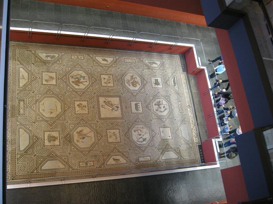 Römisch-Germanisches Museum: Мозаика Диониса