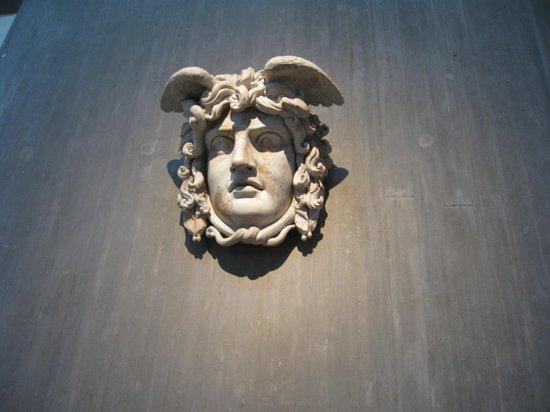 Römisch-Germanisches Museum: голова