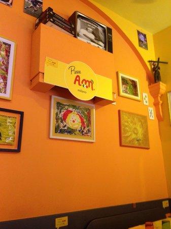 Pizza AM : L' interno