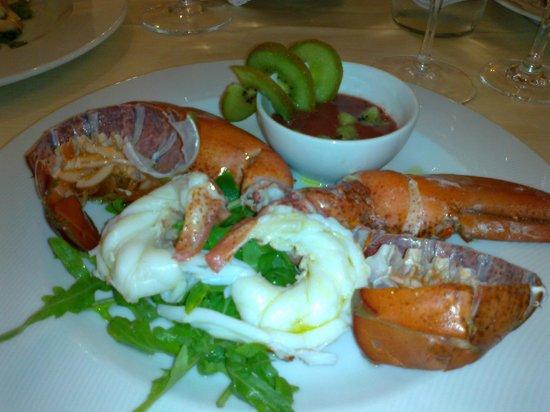 Hotel Voce del Mare: Wonderful lobster salad starter