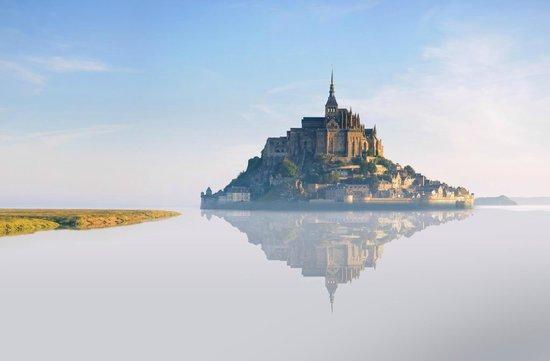 Le Gue du Holme : Le Mont-Saint-Michel aux alentours