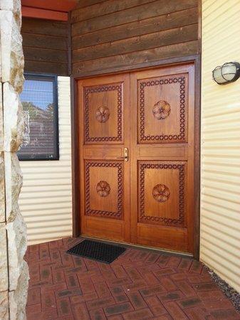 Bali Hai Resort & Spa: front door to accommodation