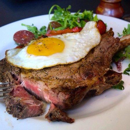 Osteria 166: Best Tomahawk steak ever ... It's so yummy !!!!!!!!!!