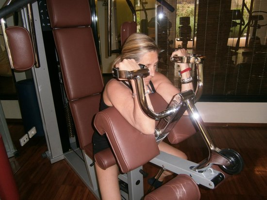 Hotel Therme Meran: sala fitness