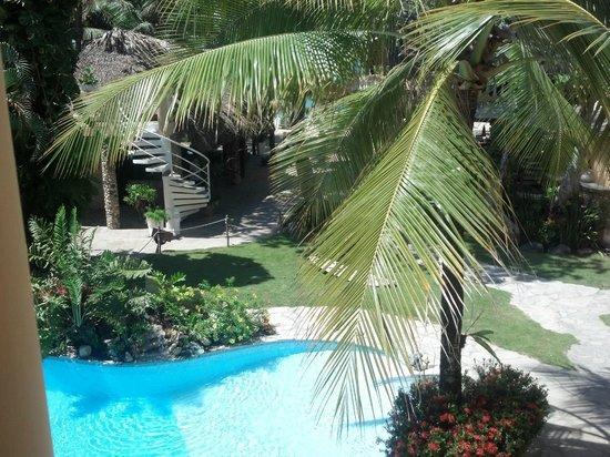 Hotel Villa Taina: our balcony view