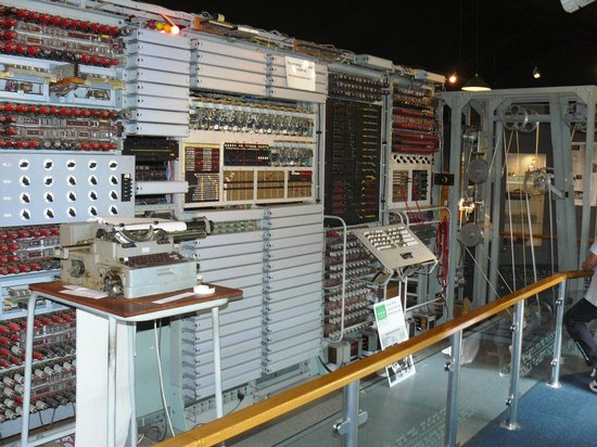 The National Museum of Computing: Replica of Tunny
