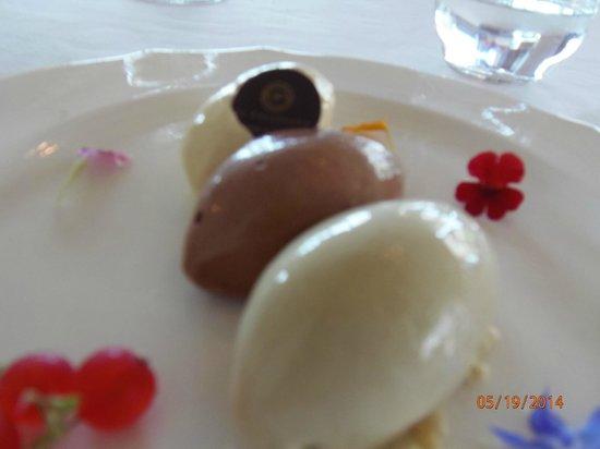 Hotel Il Pellicano: gelato selection