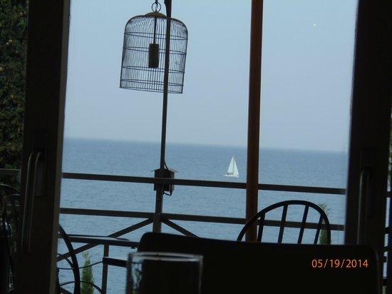 Hotel Il Pellicano : birdcage lights