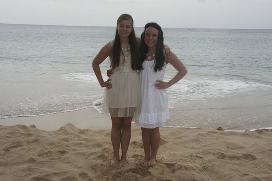Sandals Regency La Toc: Daughters on our wedding day