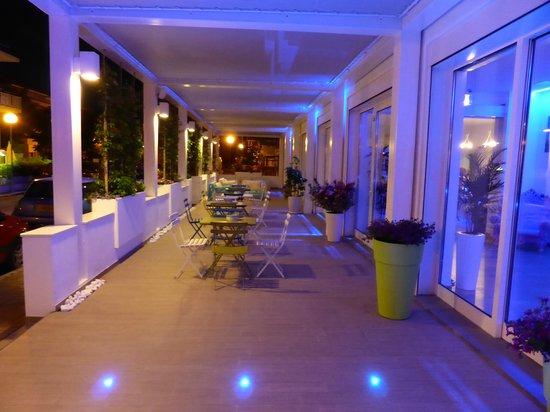 Maree Hotel: La terrasse