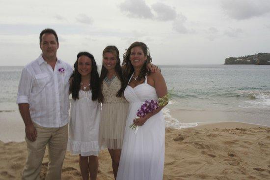Sandals Regency La Toc: Wedding Day