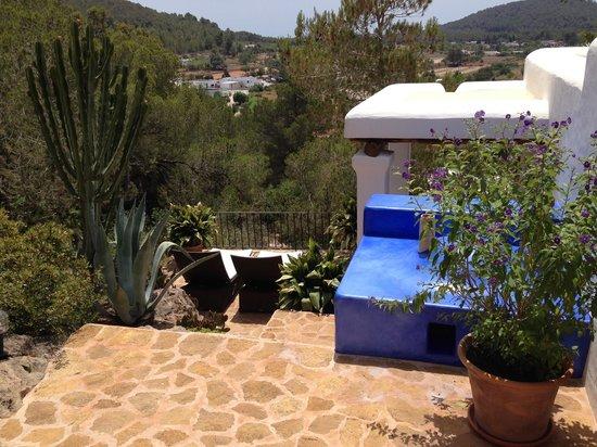 Can Curreu : Discrete room terraces
