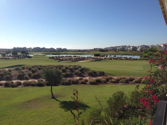 Hacienda Riquelme Golf Resort: Views from balcony over the gold course