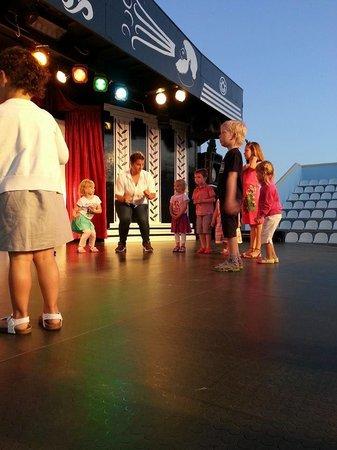 Lindos Princess Beach Hotel: Abendanmimation für Kinder - Minidisco
