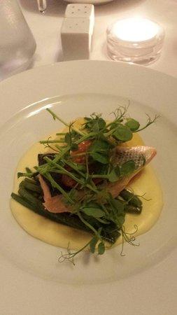 Reform restaurant: My yummy main course!