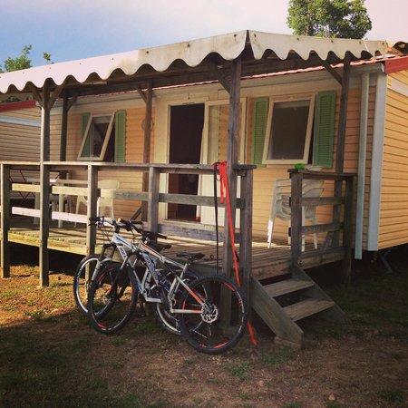 Le Grand Calme Camping: notre mobilhome