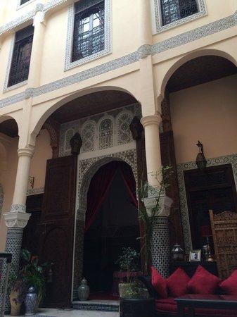 Riad Ibn Battouta : Patio Central