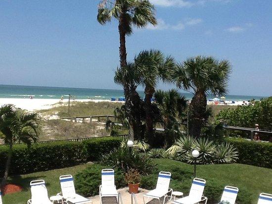 Gulf Beach Resort: view
