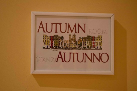 QuodLibet: Name of our room