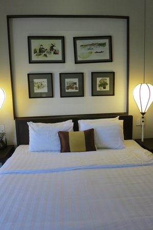 Little Hoian Boutique Hotel & Spa: room good but not fantastic..