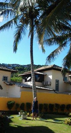 Pousada Joao Fernandes: Jardín de la Pousada