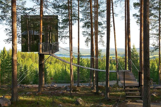 Norrbotten County, Sweden: The Treehotel