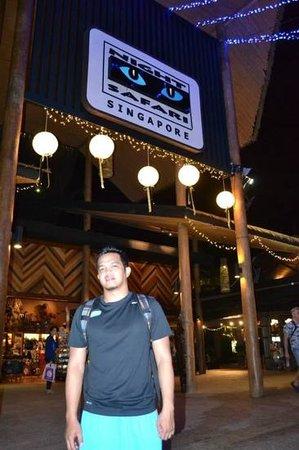 Night Safari : the entrance