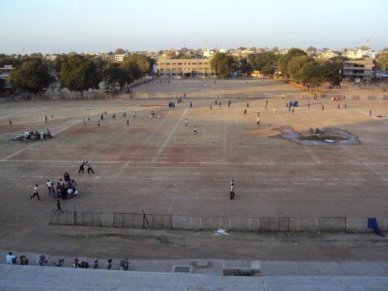Amravati, India: View from Stadiam